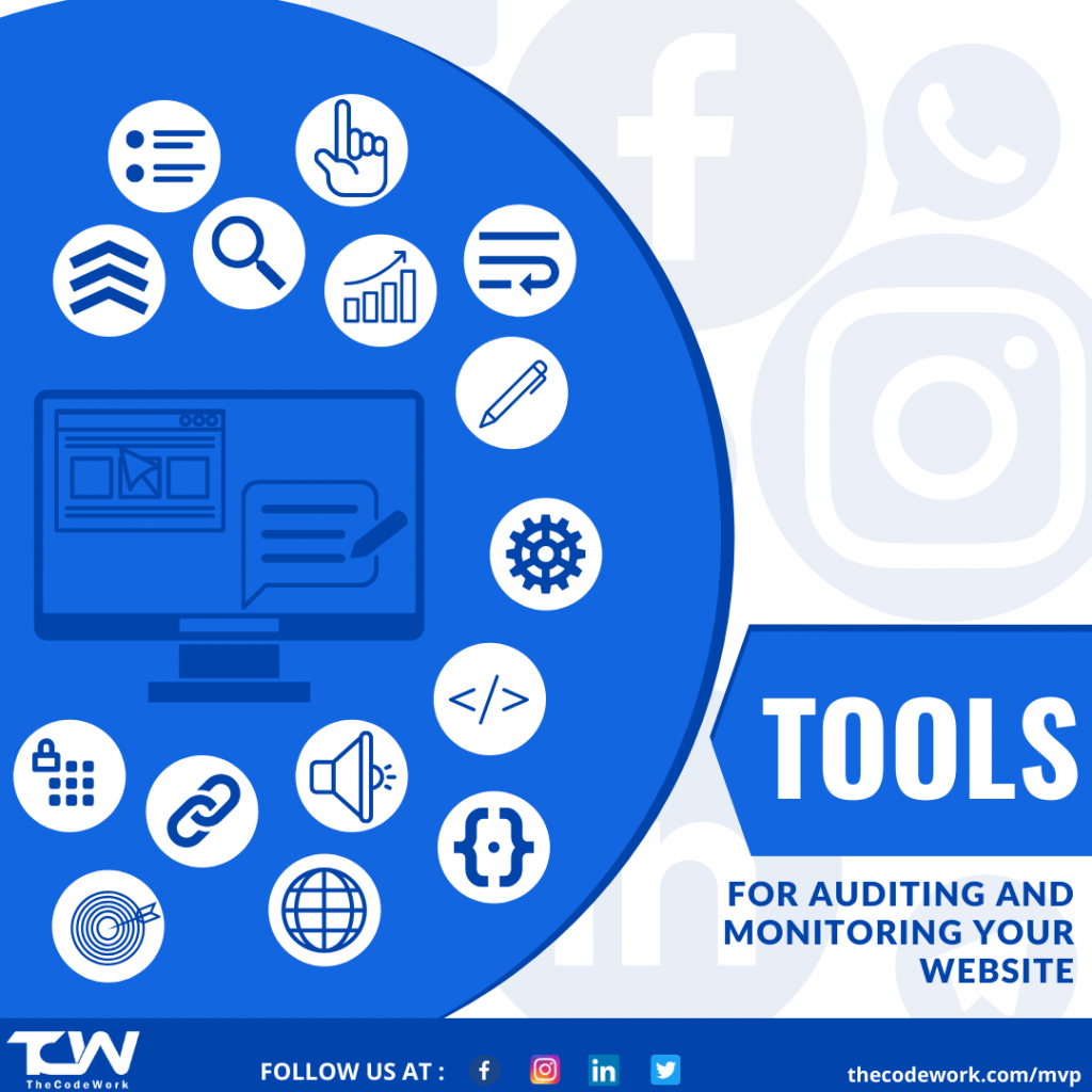Tools for auditing and monitoring by TheCodeWork