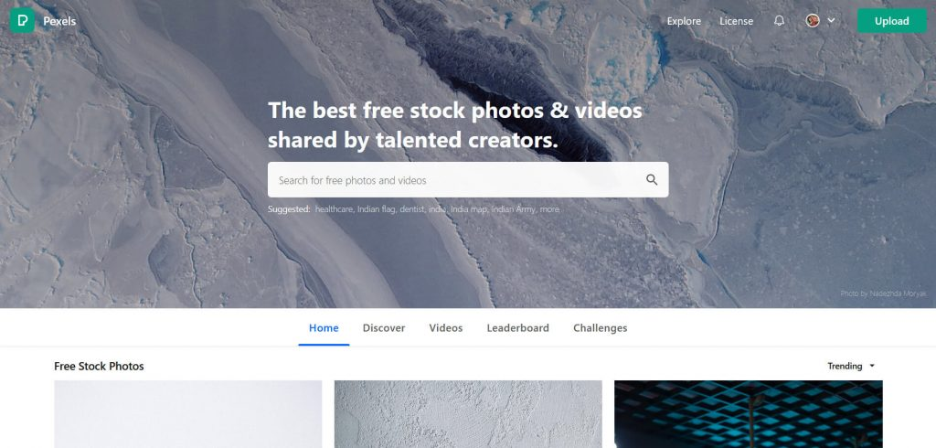 free resources of HD quality images by pexels