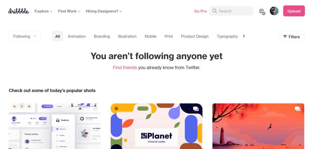 Free Design resources inspiration dribbble
