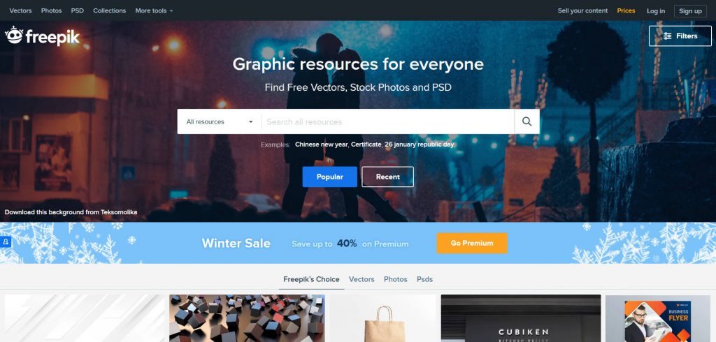 Free resources of icons by freepik for graphic designers