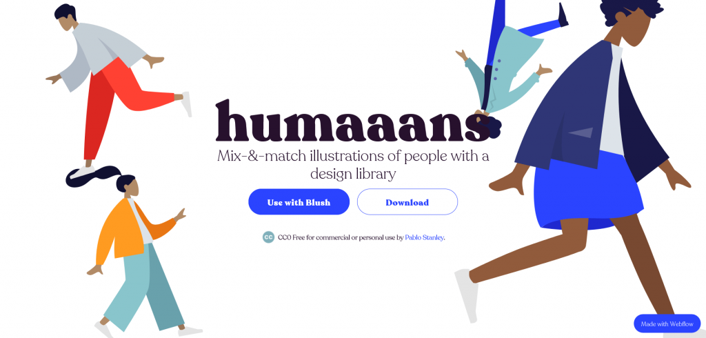 Free illustrations by humaaans free resources for graphic designers
