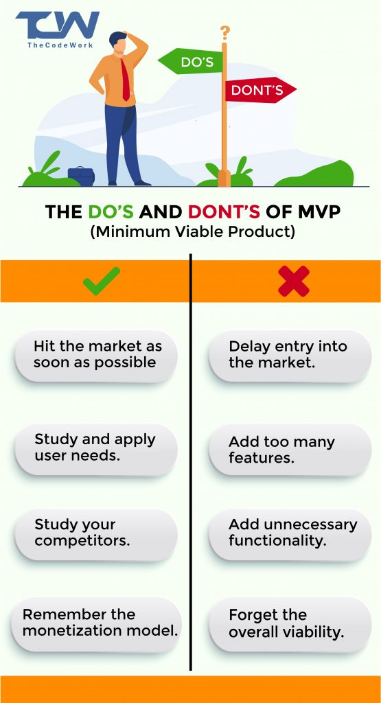 do's and dont's of minimum viable product