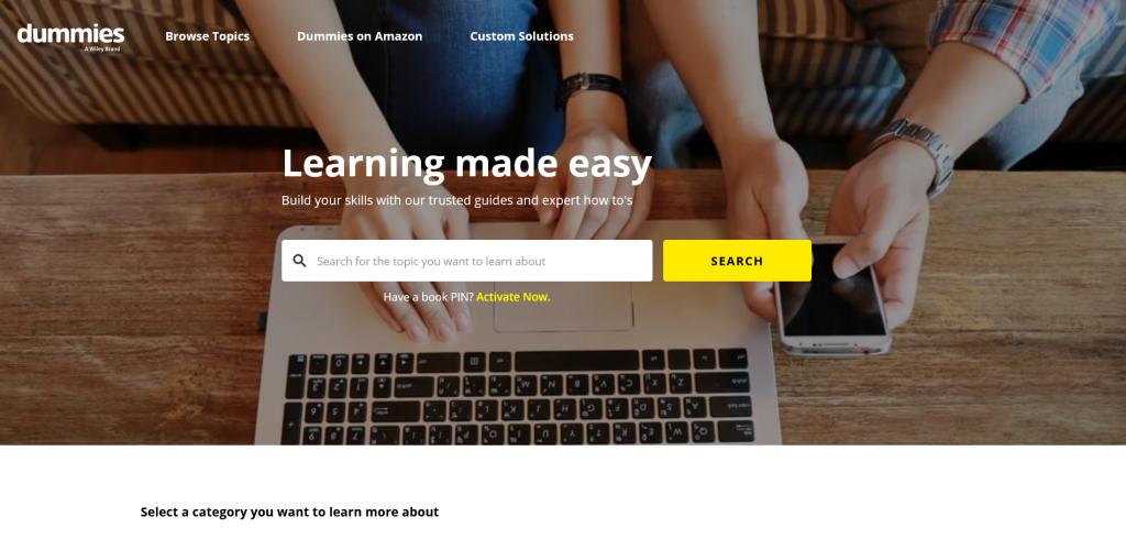 tech news website for layman - Dummies