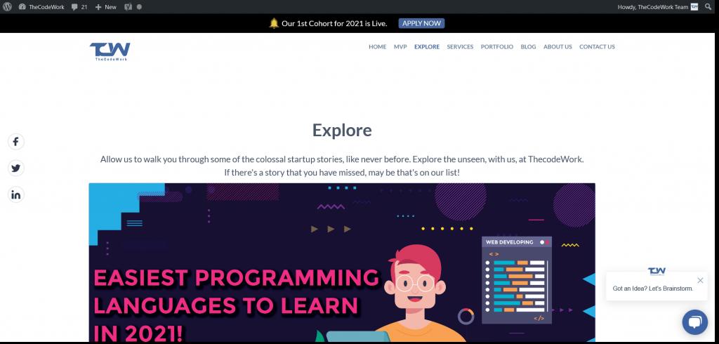 best tech website - TheCodeWork