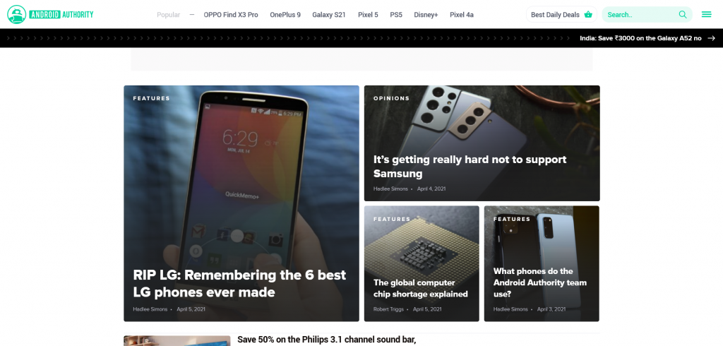 tech news blog - Android Authority