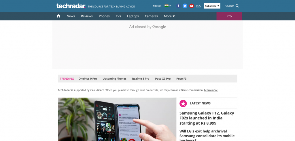 best sites to engage in tech news - TechRadar