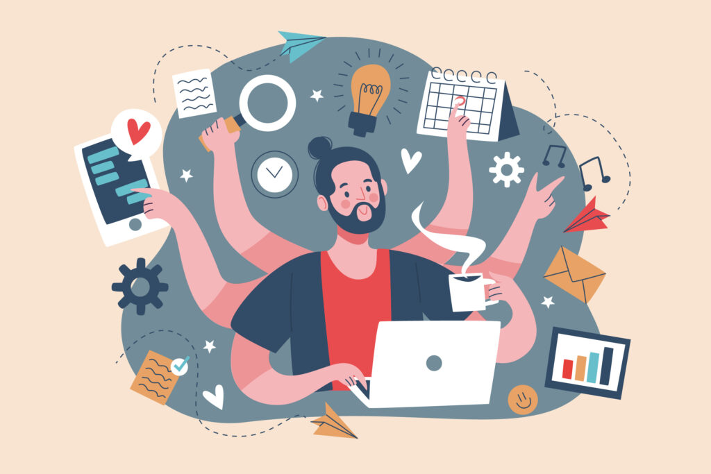 Your productivity is at peak when working on your own schedule.