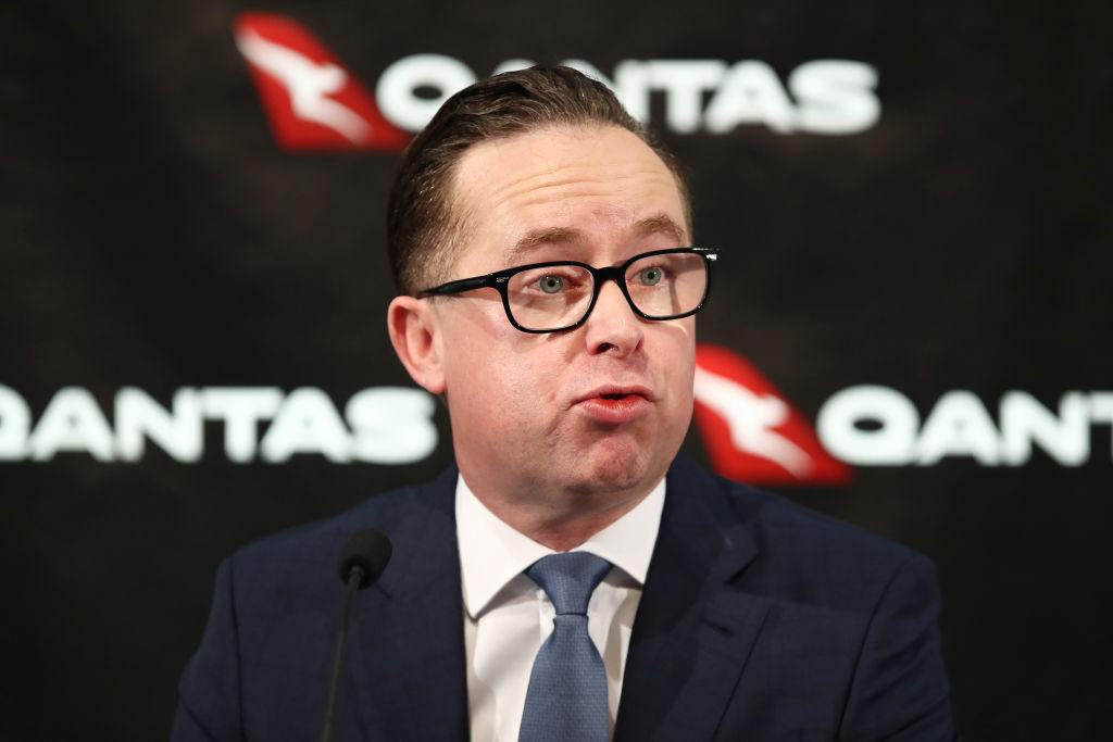 Alan Joyce (CEO - Qantas)