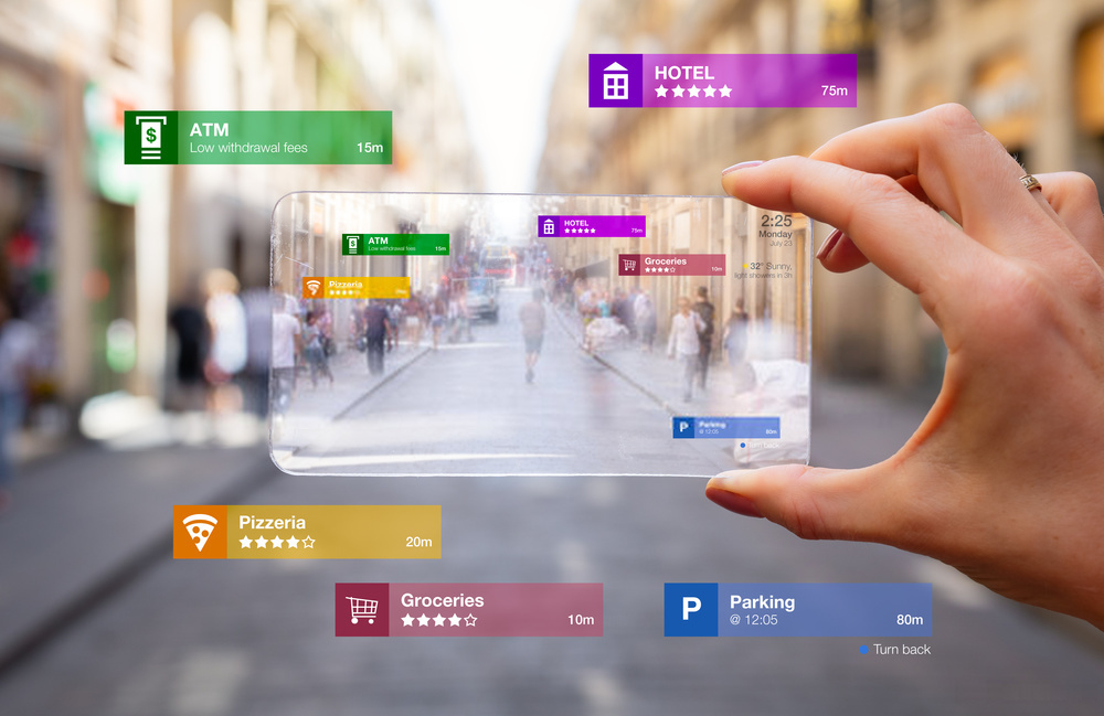 BUSINESS using augmented reality